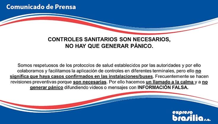CONTROLES SANITARIOS NECESARIOS