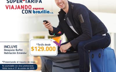 Viaja a Barranquilla Con Expreso Brasilia y hospédate con una súper tarifa