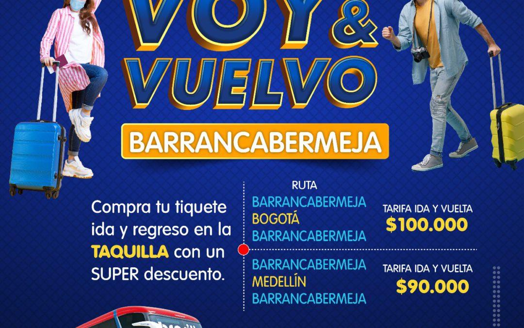 Voy y vuelvo Barrancabermeja